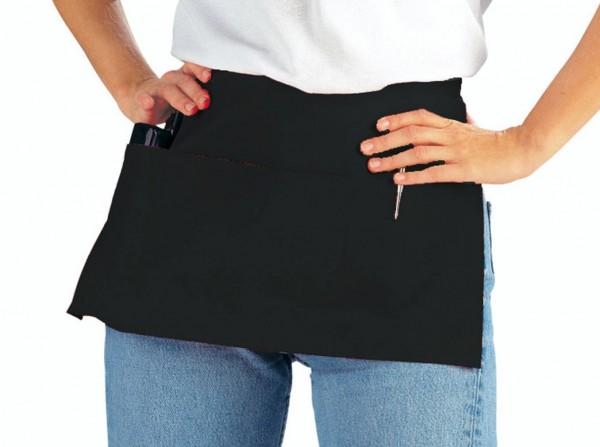 schwarzer Vorbinder mit Taschen leiber 434