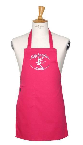 Pinke Kinderschürze Küchenfee ex122