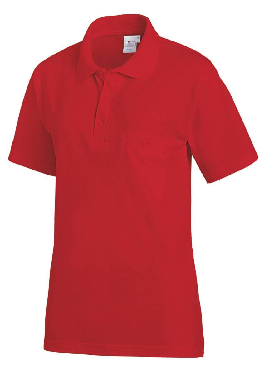 rotes polo shirt unisex lb241 f r damen und herren. Black Bedroom Furniture Sets. Home Design Ideas