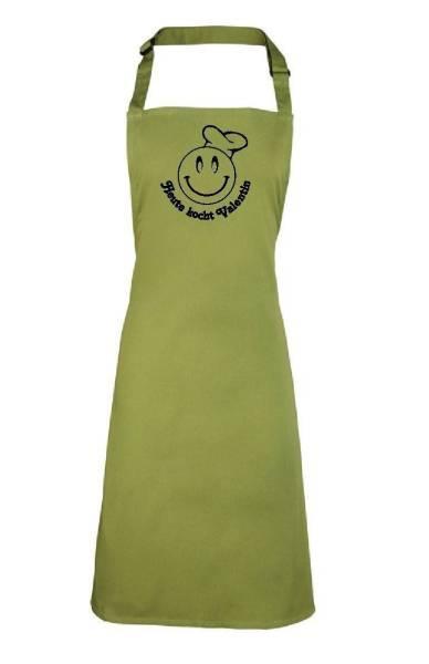 Oasis grüne heute kocht Motivschürze mit Namen