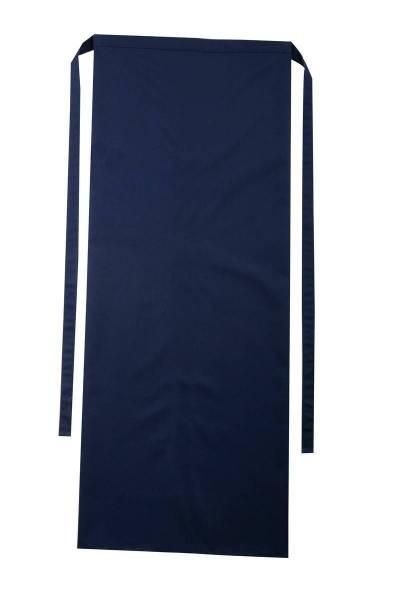 Dunkelblaue Bistroschürze 100x100cm Roma Marine von CG Workwear