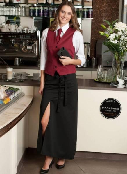 Bistroschürze mit Schlitz Milano CG Workwear