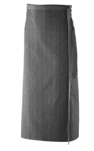 Nadelstreifen Bistroschürze 80x100cm ex102