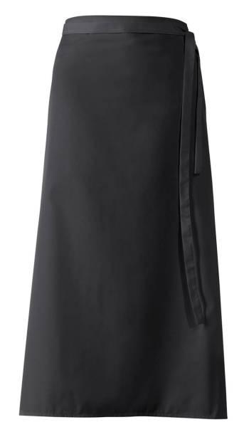Schwarze Bistroschürze 100x100cm lb289