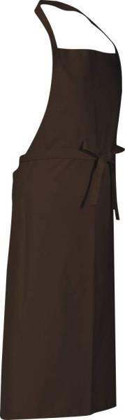 Toffee braune Latzschürze 110x78cm Verona von CG Workwear