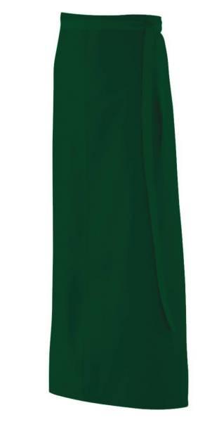 Dunkelgrüne Bistroschürze 100x100cm ex103