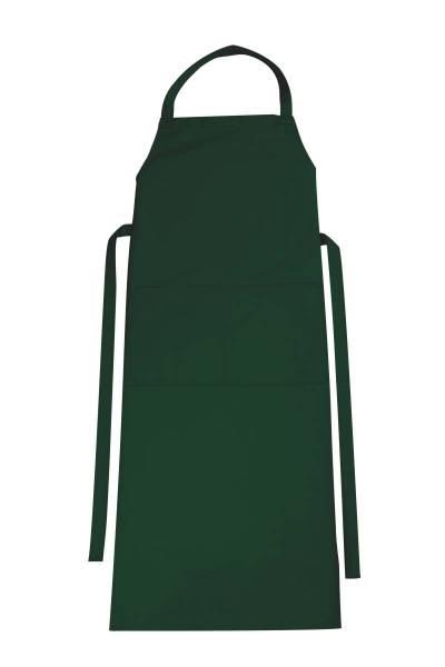 Grüne Latzschürze mit Tasche Verona von CG Workwear Bottle