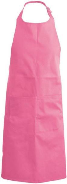 Pinke Latzschürze mit Taschen K890 Kariban