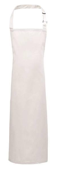 Weiße Kinderschürze Nackenband verstellbar