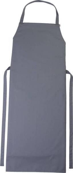 graue Latzschürze 110x78cm Verona von CG Workwear