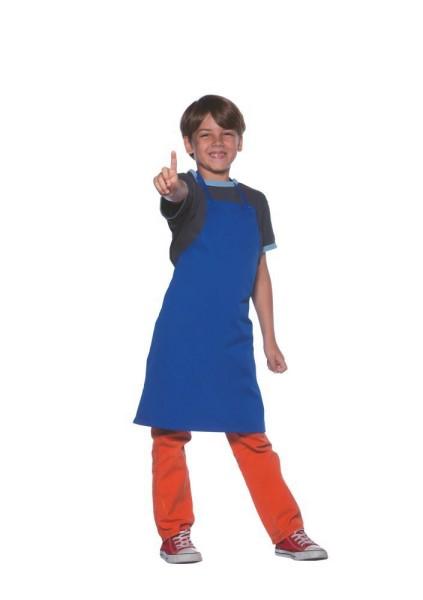 blaue Kinderschürze 65x75cm Karlowsky