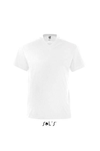 Weißes V-Neck T-Shirt Victory 3er-Pack