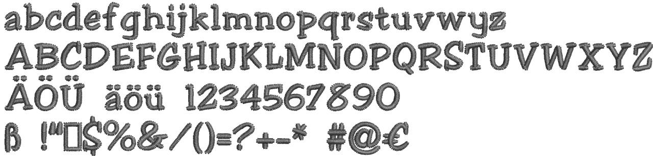 casual-serif-stickschrift