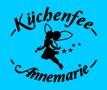 blaue Schürze Küchenfee