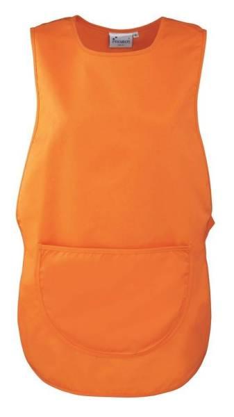 Orange Überwurfschürze PR171